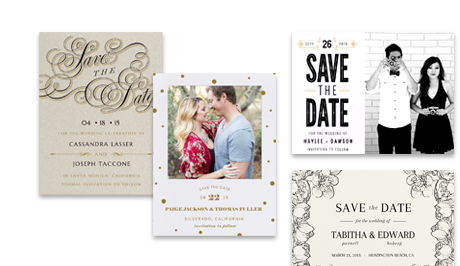 Save the Dates Envelopments – Wedding Invitations and Save the Dates