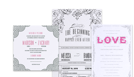 Header invitations wedding 1