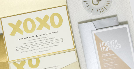 New! Metallic Digital Gold and Silver Ink Options!